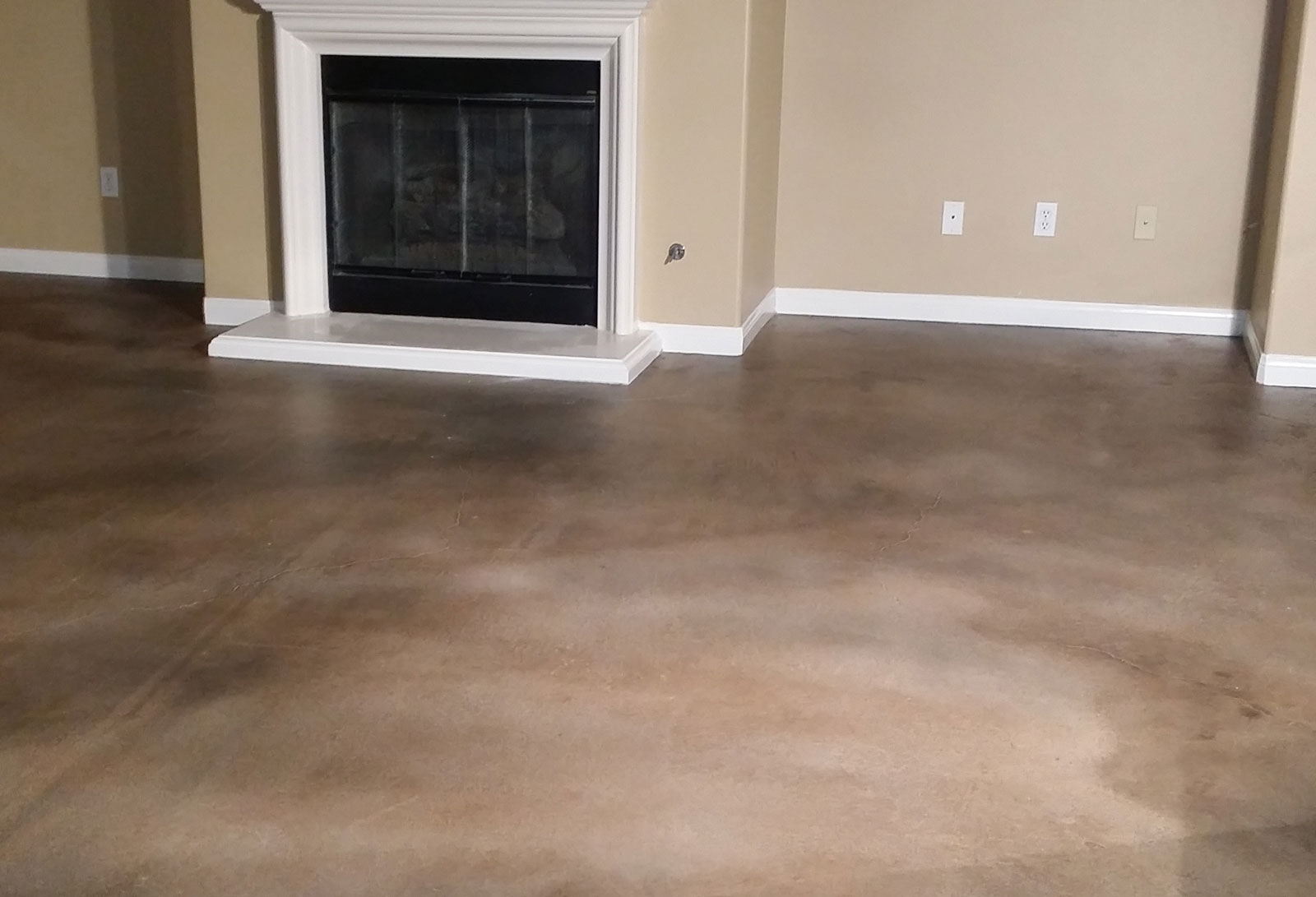 Wanglerworks Home Improvement Concrete Floors Stained